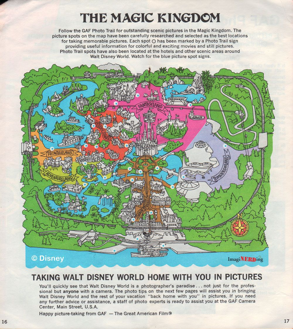 Disney world maps throughout the years theme park maps pinterest disney world maps throughout the years gumiabroncs Image collections