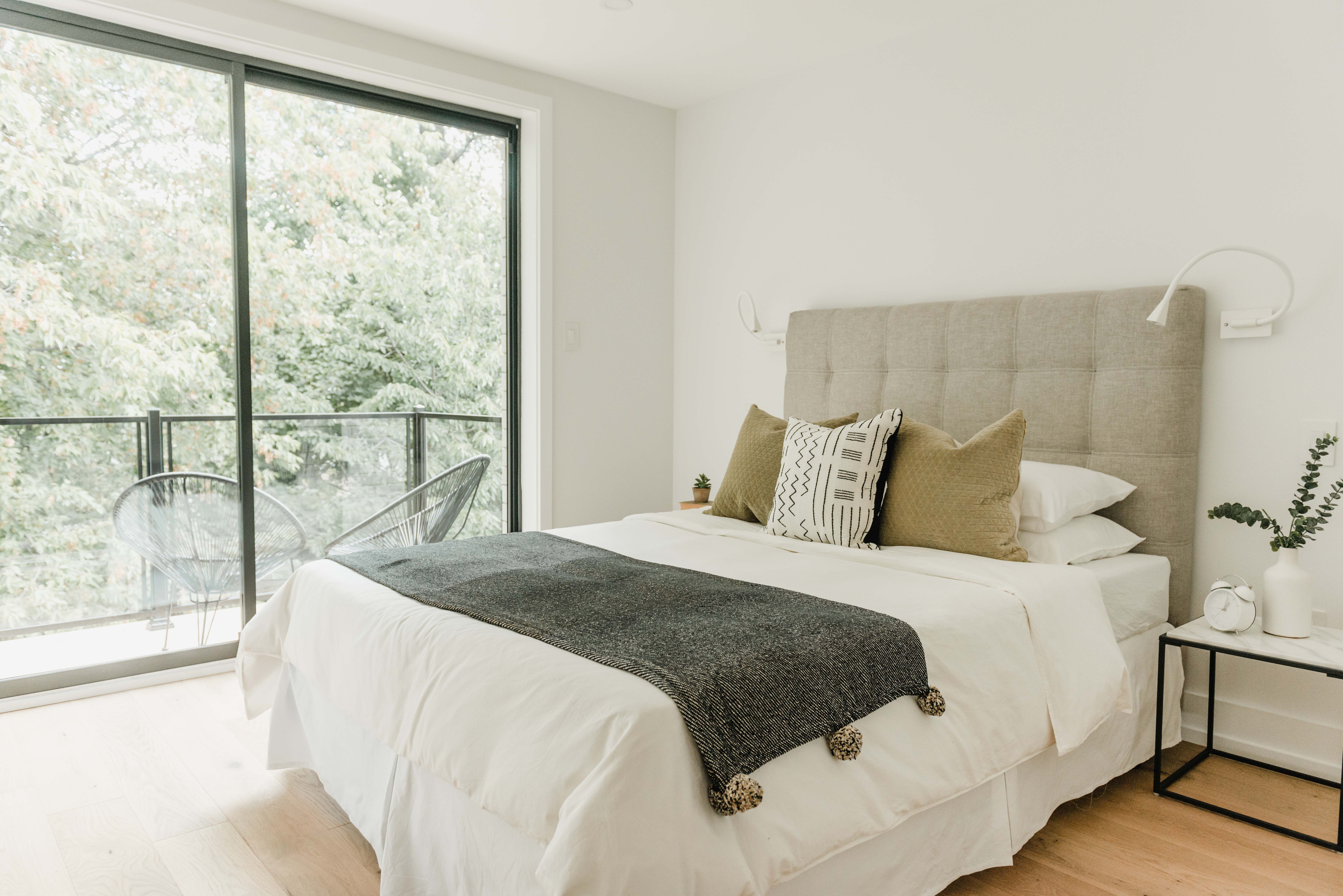 Pin On Bedrooms Simple bedroom decoration view