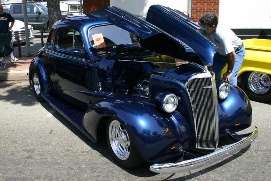 Up for sale is a 1937 chevrolet master deluxe coupe street rod ...