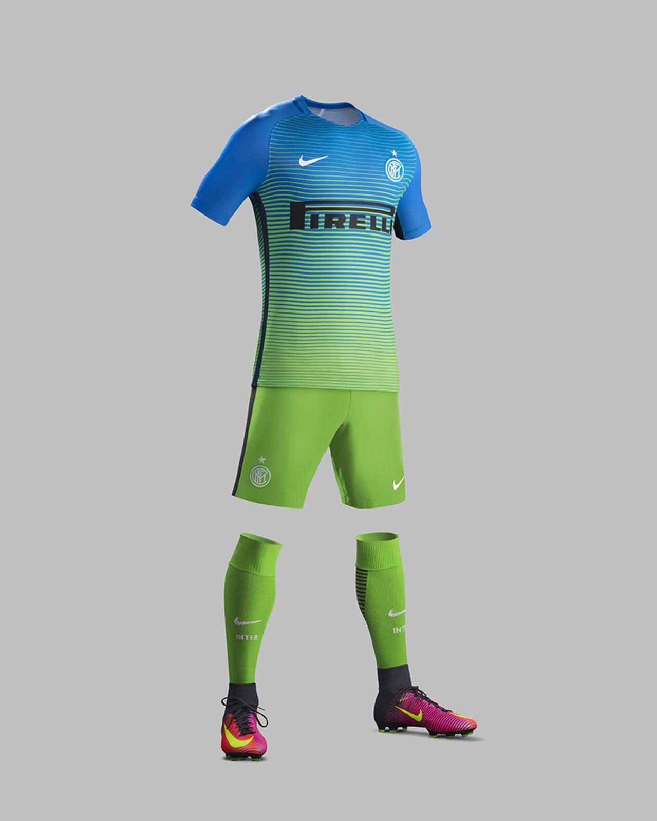 73085e99a2e9a Terceira camisa da Inter de Milão 2016-2017 Nike kit