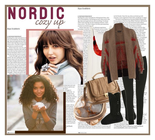 """""""nordic cozy up"""" by s-thinks ❤ liked on Polyvore featuring ASOS, Barse, Kain, H&M, Wet Seal, Friis & Company and Dorothy Perkins"""