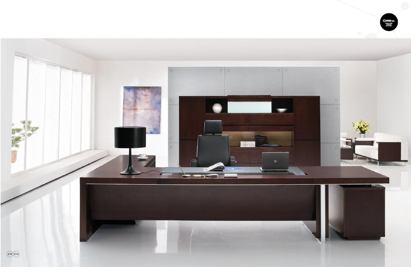 China office executive desk china modern executive desks for Interior design for office furniture
