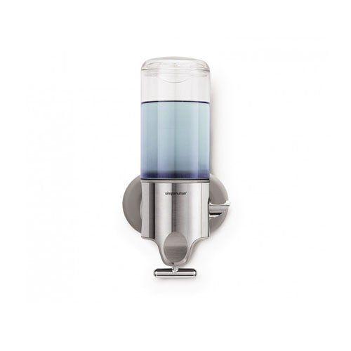 Simplehuman Wall Mount Pumps Single 15 Fl Oz Shampoo Soap Dispenser Soap Dispenser Simplehuman Wall Mounted Soap Dispenser
