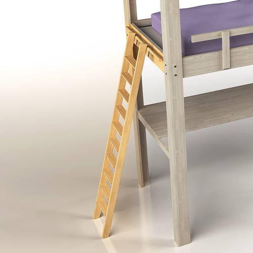 scala a pioli legno stile giapponese | Letto a soppalco, Scale