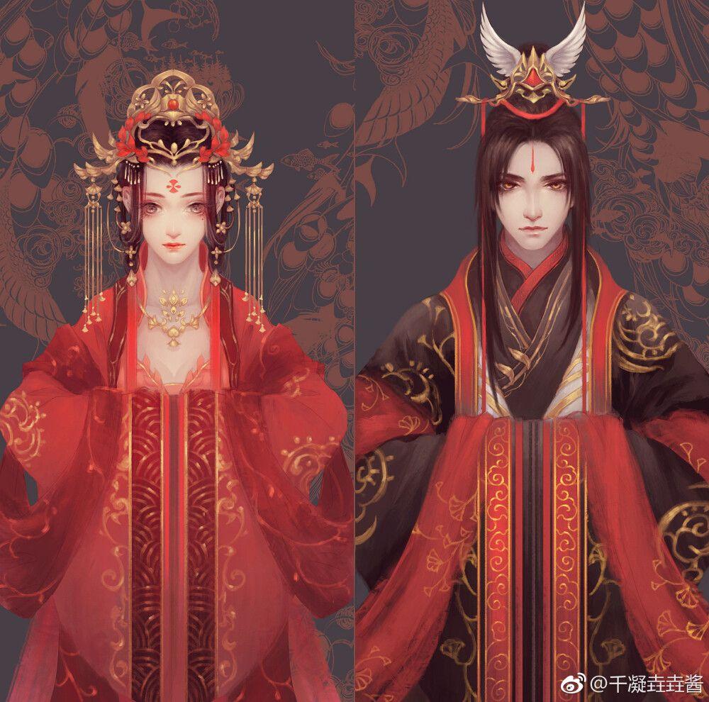Ghim của Xích Diễm Cố Tích trên Hỉ 囍 Wedding trong