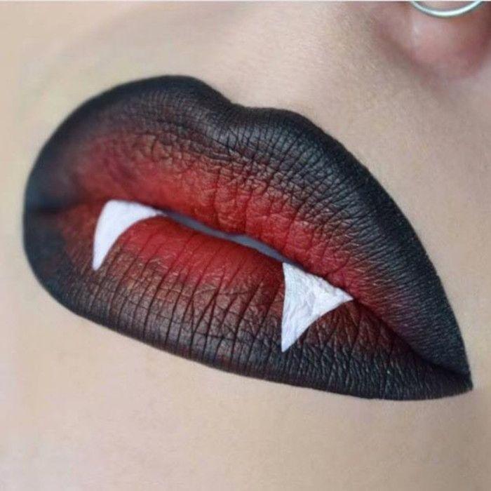 Die kreativste Lippen-Kunst nicht nur für Halloween