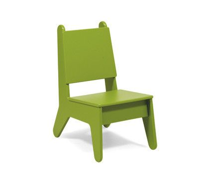 Heritage Little sells a durable, sustainable chair perfect for your child's room or playroom. It is made from recycled plastic and green is only one of the fun 9 colors that you can choose from. Visit Heritage Little's website to browse all of your options!