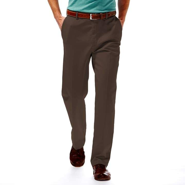 Big Tall Haggar Work To Weekend Classic Fit Flat Front Expandable Waist Pants Pants Big Tall Jeans Big Tall