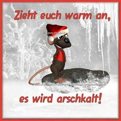 Huhuhu So Kalt Guten Morgen Guten Tag Winter Humor