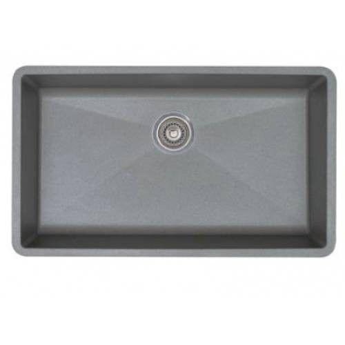 Blanco 440148 Precis Super Single Bowl Silgranit Undermount Sink In Metallic Gray With Images Single Basin Kitchen Sink Single Bowl Sink Sink