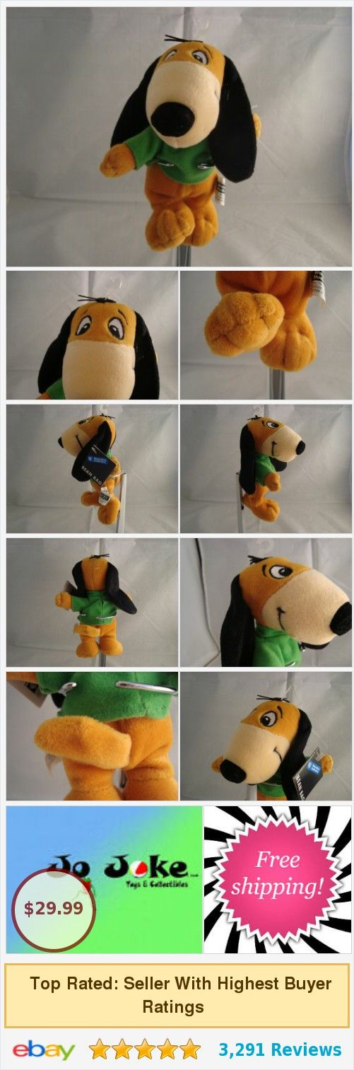 Details about WARNER BROS STUDIO STORE-AUGIE DOGGIE-BEAN PLUSH-1998-RETIRED-NEW/TAGS #warnerbros
