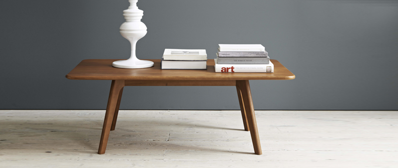larssen scandinavian coffee table and side table styled | brissi