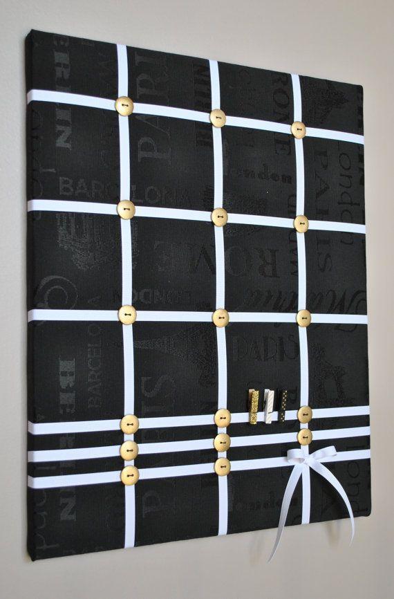Memo Board Photo Board Memory Board Vision Board Fabric Memo