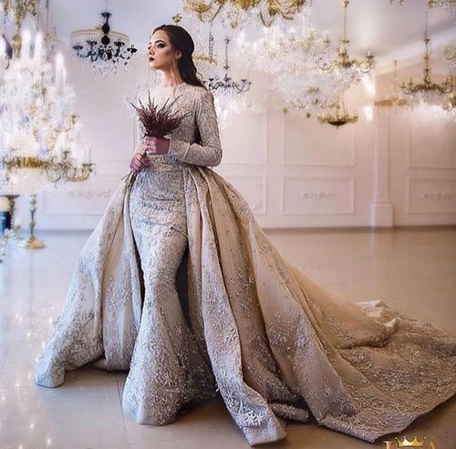 ba8747c1186f Image by H. M. Love this dress!! | Winter Weddings in 2019 | Wedding ...