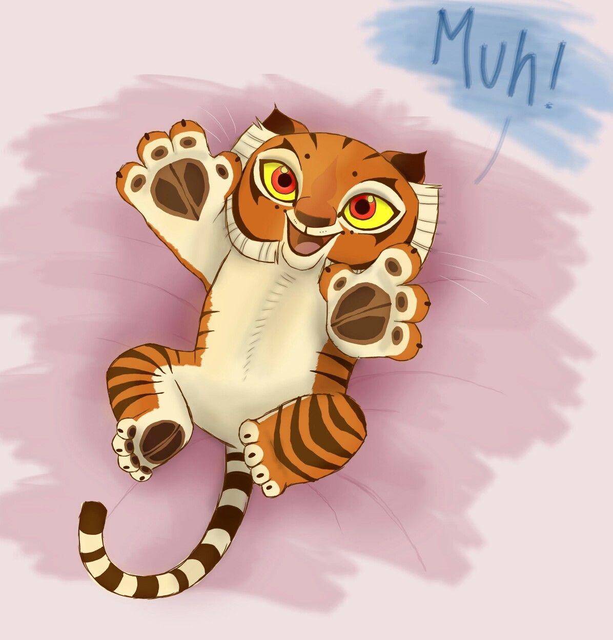 Cute Little Baby Tigress