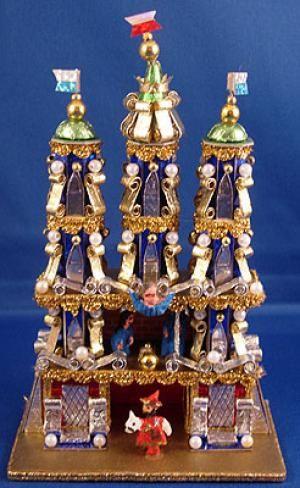 The Krakow Nativity: Miniature Krakow Nativity