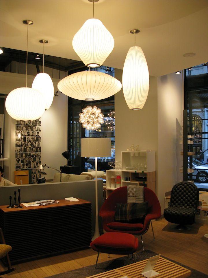 George Nelson Bubble Lamps | Design | Pinterest | Nelson ...