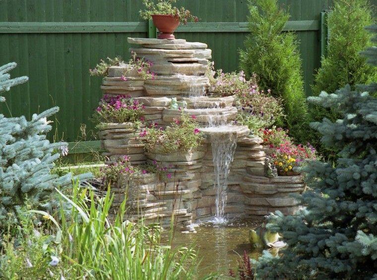 Fuentes de cascada para jardin aalibaba china fuentes de for Cascada artificial casera