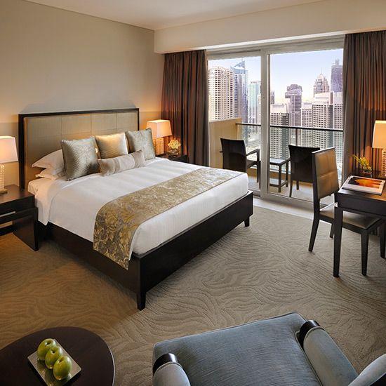 Hotel Apartments Dubai Marina Bedroom