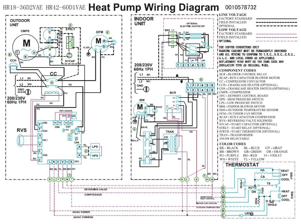 Wiring Diagram For Heat Pump:  Heat pump compressor Fan wiring rh:pinterest.com,Design