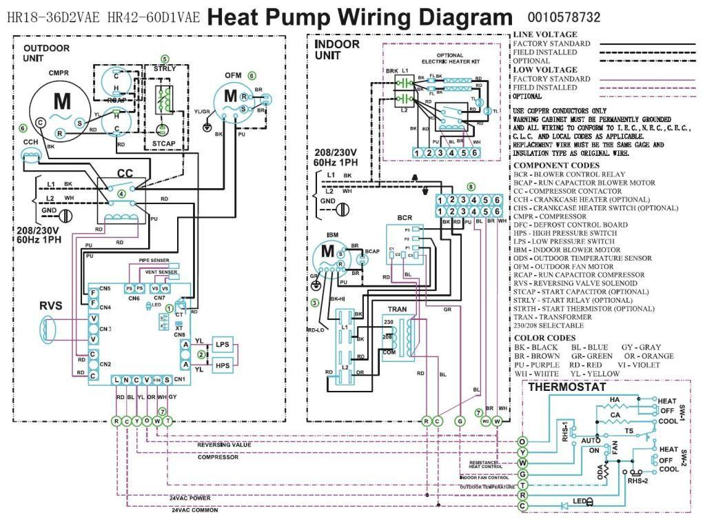 Trane Heat Pump Thermostat Wiring Diagram Uk Home Diagrams Schematics Compressor Fan
