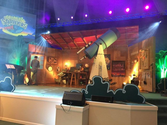 Space Themed Decorations Part - 43: Lifeway VBS 2017 Galactic Starveyors Music Decorations