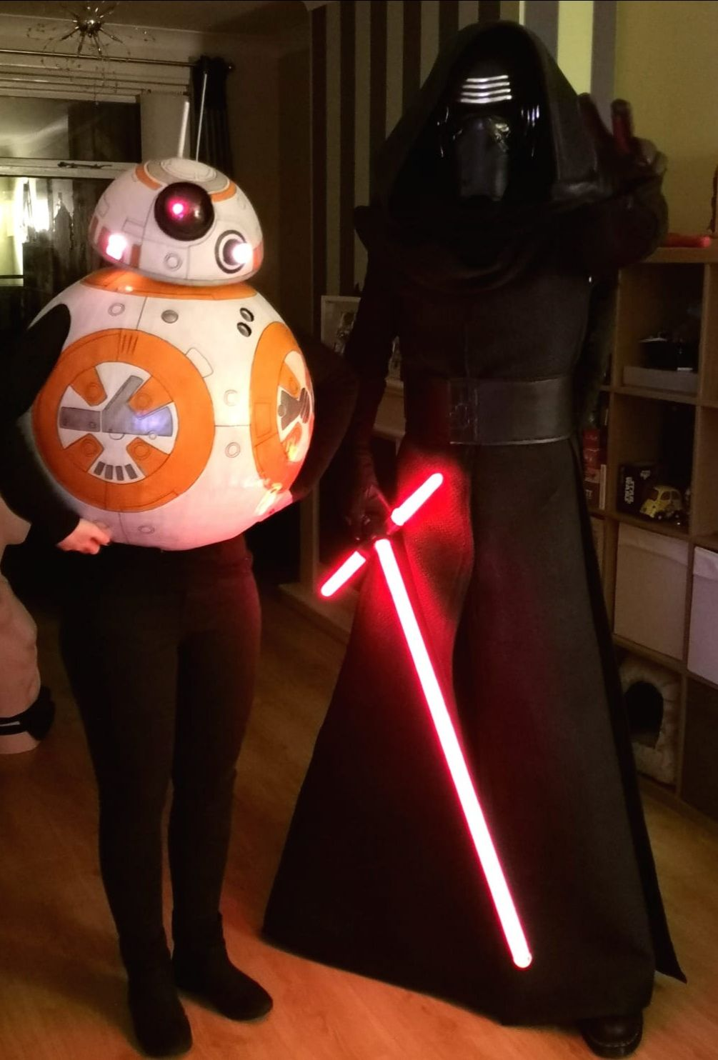 Kylo and BB8 [self] cosplay https//bit.ly/1Pirklu in