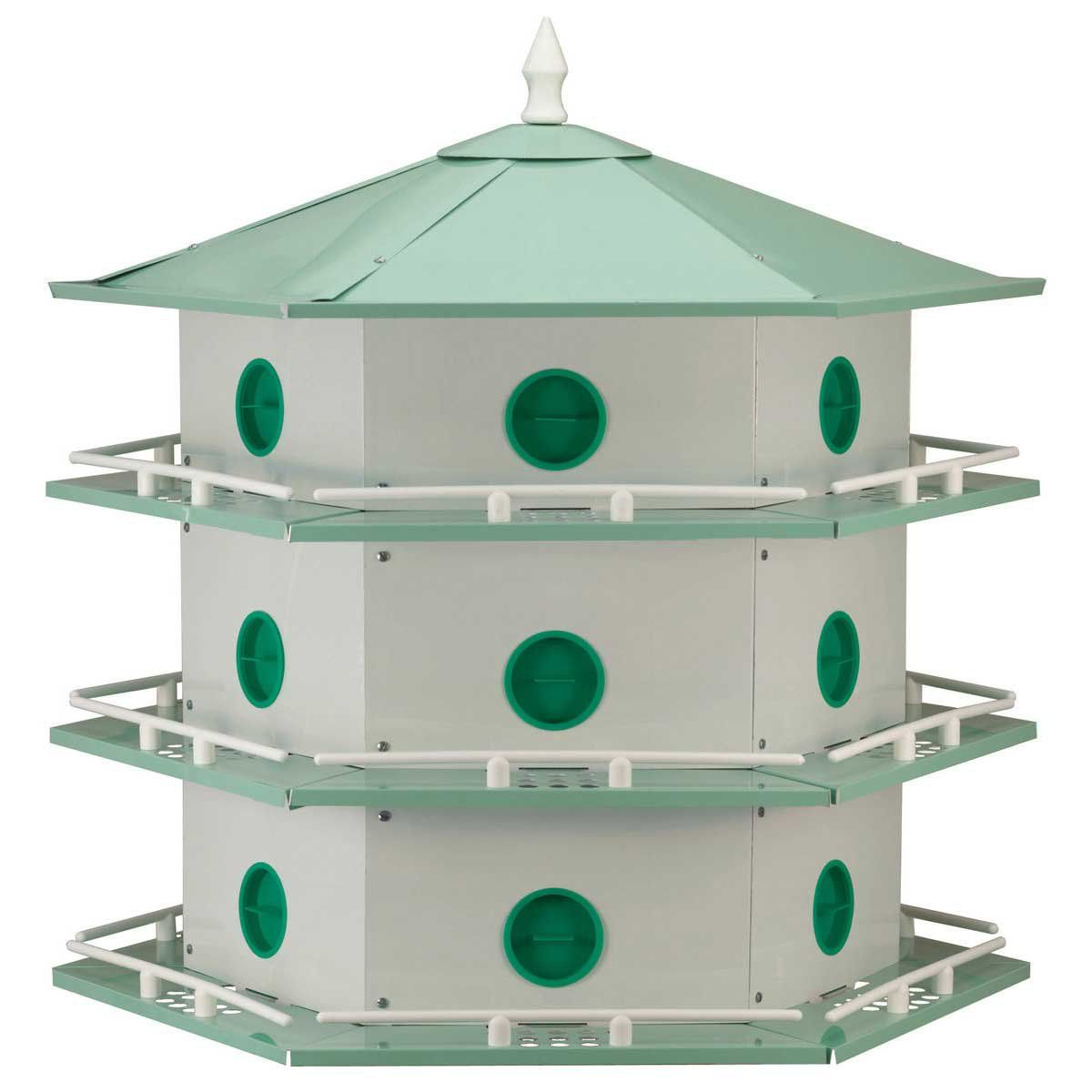purple martin bird houses for 14499 with free shipping light weight aluminum construction this