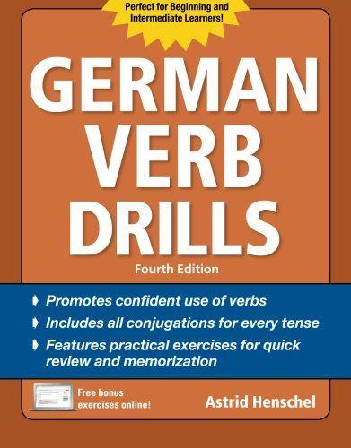 German Verb Drills, Fourth Edition (Drills Series) by Ast...