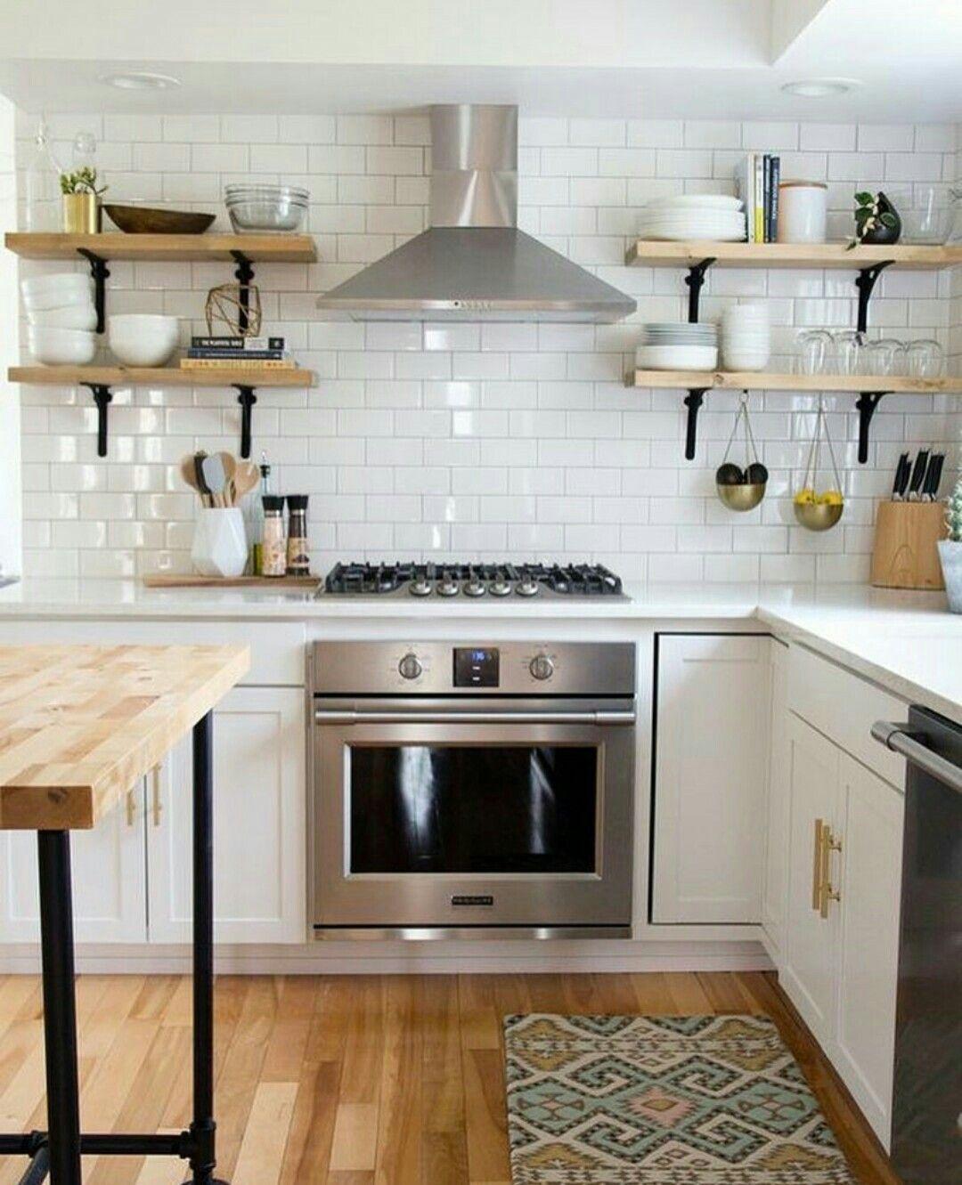 Piastrelle Cucina Bianco | Piastrelle Cucina Marroni Decorazioni Per ...