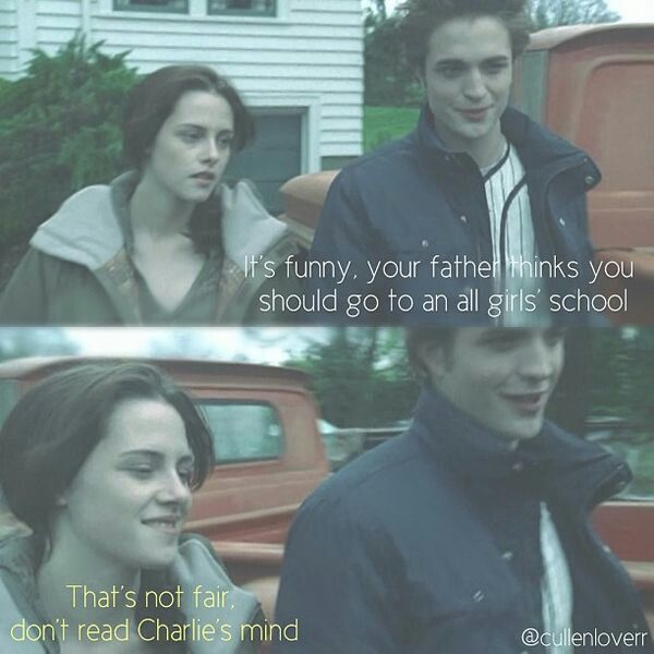 Do You Have To Read Minds In This House You Have To Tend To Lose That Power Here Okey Edward With Images Twilight Saga Quotes Twilight Book Twilight Saga Series