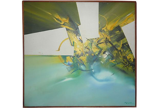 Sergio Moyano Abstract, 1971 on One Kings Lane