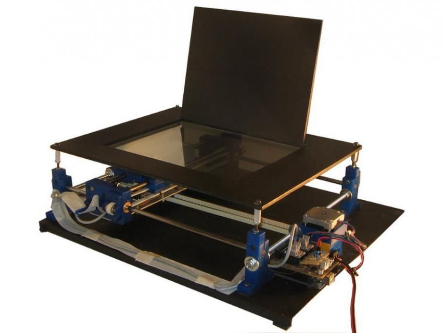 http://www.diyouware.com/front Blu-Ray Laser Diode based PCB printer ...
