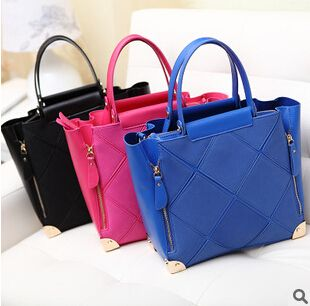 Find More Totes Information about 2014 women top handle bags ,women tote bags , fashion bags blue,High Quality Totes from aikubags on Aliexpress.com