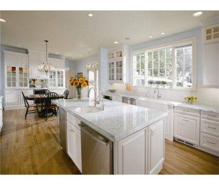 PVC white kitchen cabinet set | Classic kitchen cabinets ...