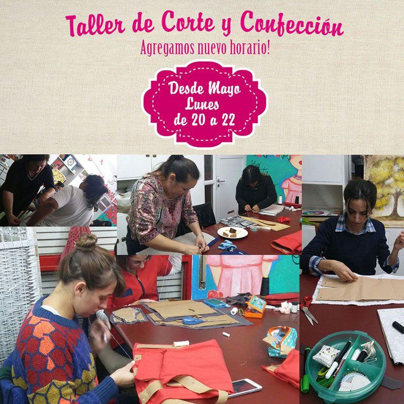 El taller de ✂📍👗Corte y Confección ✂📍👗 es todo un éxito! CUPOS COMPLETOS, por eso desde Mayo agregamos nuevo horario los Lunes de 20 a 22, ABIERTAS LAS INSCRIPCIONES!! #migarage #riocuarto