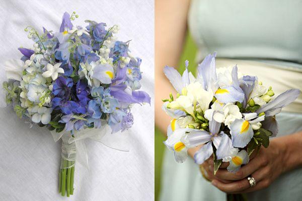 Friday Flowers Irises Elizabeth Anne Designs The Wedding Blog Iris Wedding Iris Wedding Flowers Simple Wedding Flowers