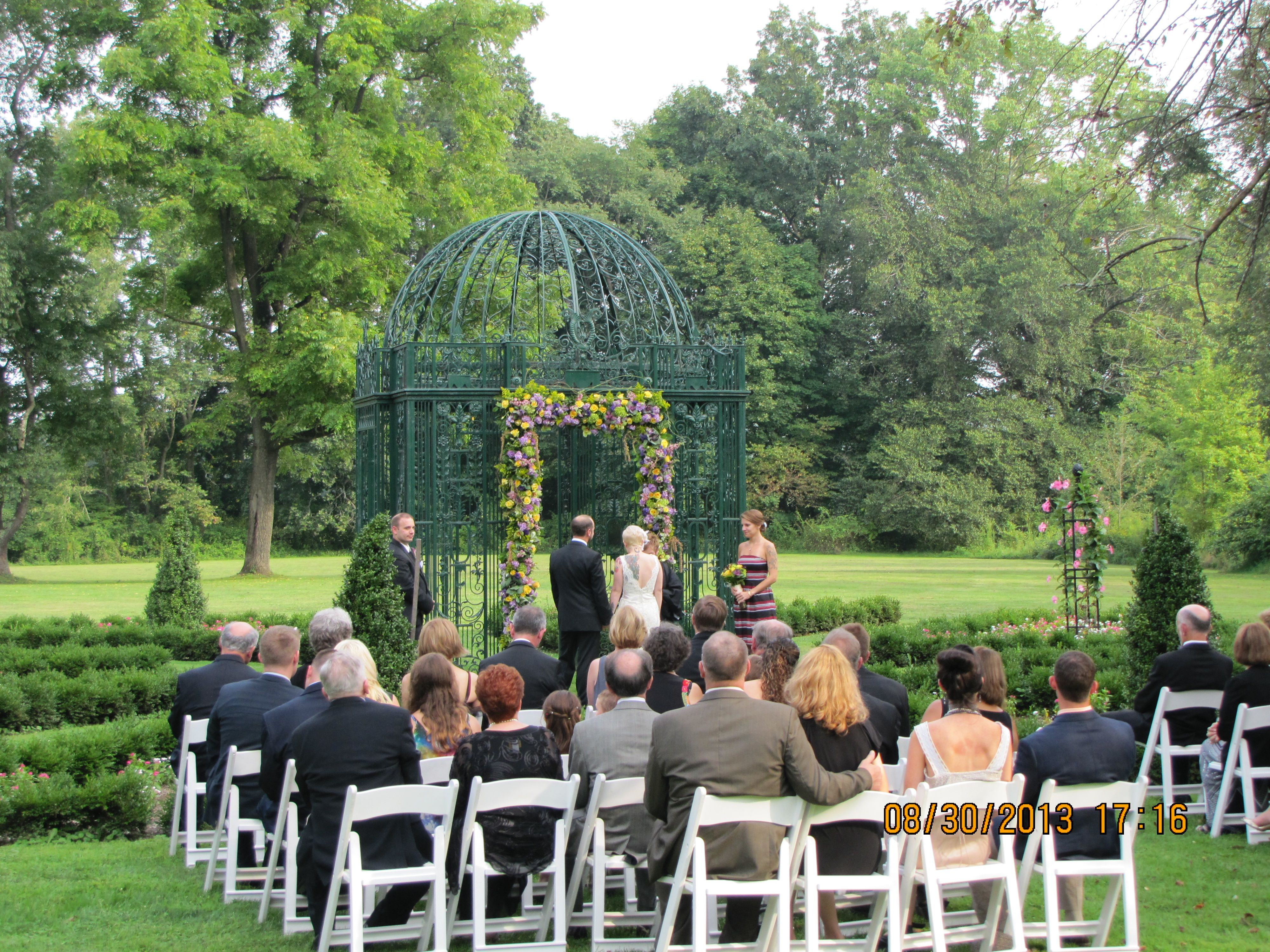 A beautiful ceremony for a beautiful couple...
