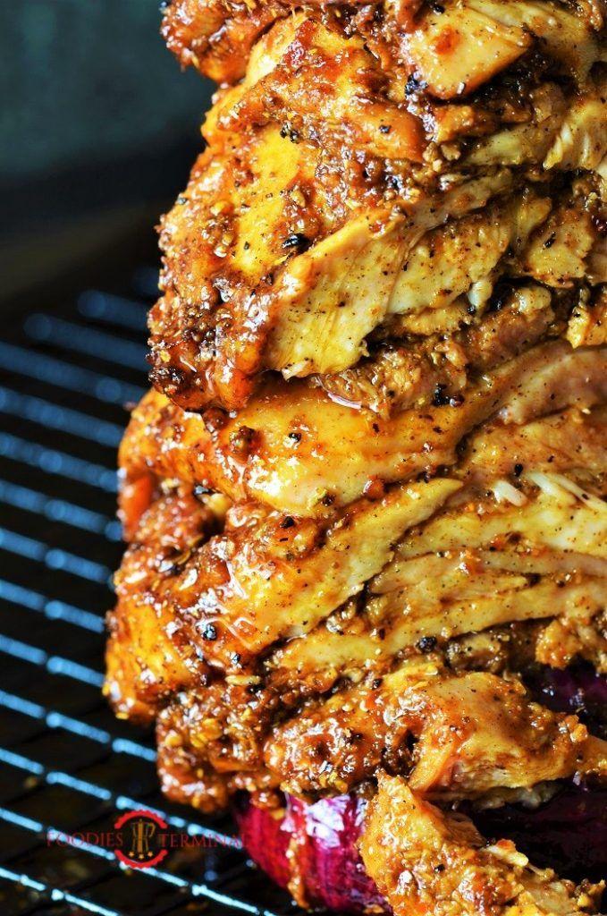 Authentic Greek Chicken Gyros Recipe with Tzatziki