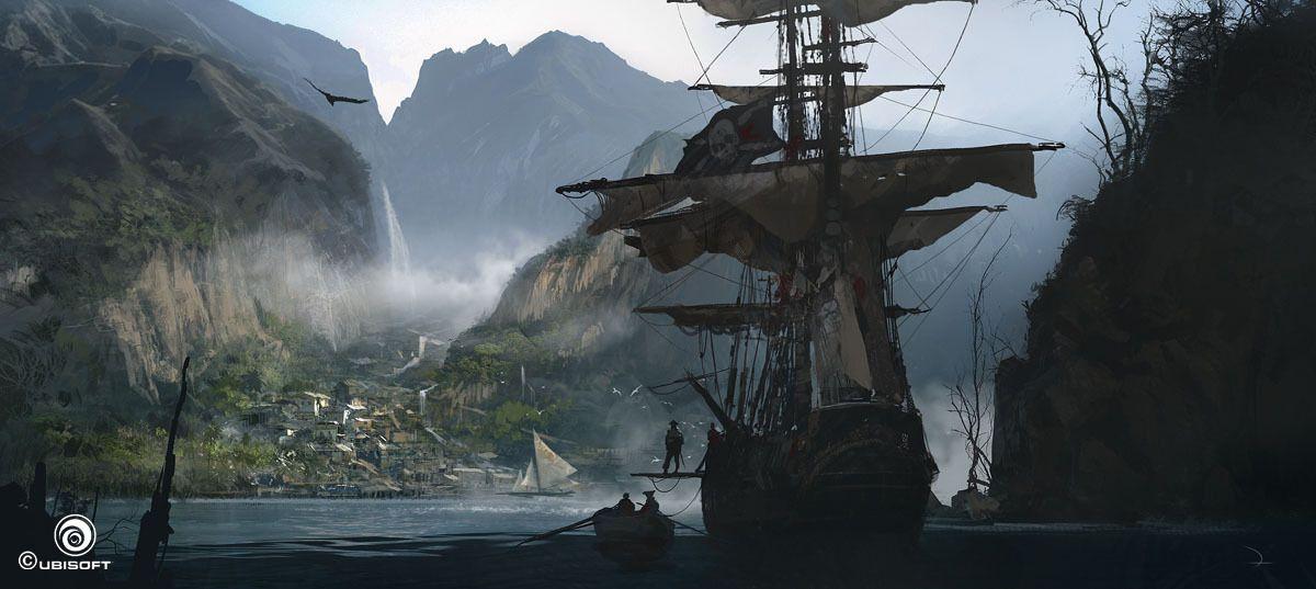 Assassin&#39-s Creed Unity Concept Art by Gilles Beloeil | ??? ...