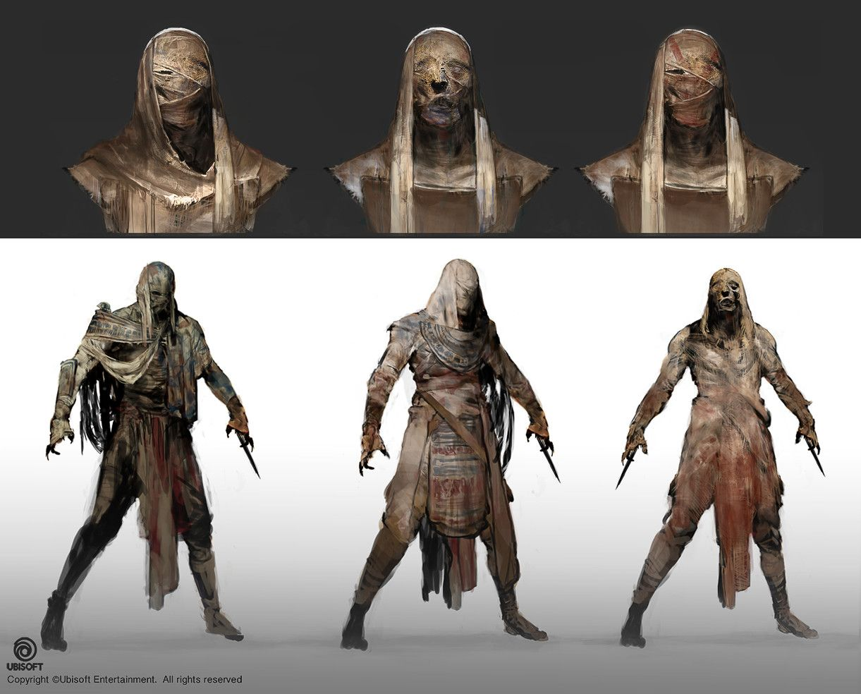 Artstation Assassin S Creed Origins Mummy Outfit Concept Jeff