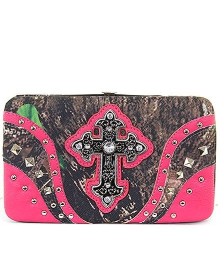 Camo cross bling wallet - Sass N Frass. When placing an order please remember to put Stacy Hinton as your rep. Thank you. Happy shopping. :)