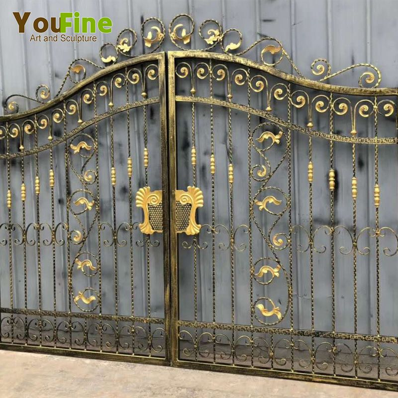 Antique Gold Wrought Iron Gate Wrought Iron Gate Iron Gate Wrought