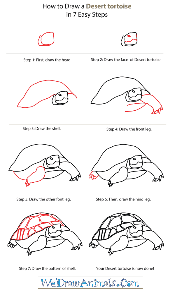 how to draw mountains step by step for kids