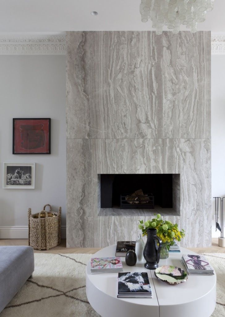 Tour a Stunningly Chic London Townhouse | Marbles, Declutter and ...