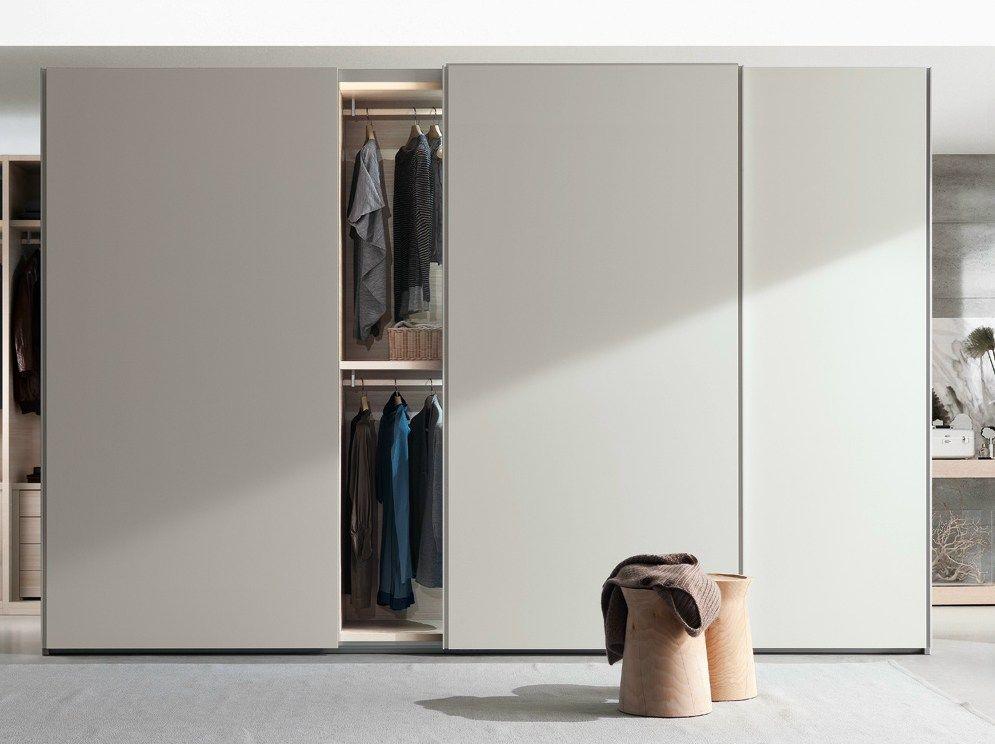White Poliform New Entry Wardrobe With Three Coplanar Doors 293x620xh259cm 4587 Was 9174 50 Sliding Wardrobe Doors Wardrobe Doors Wardrobe Door Designs