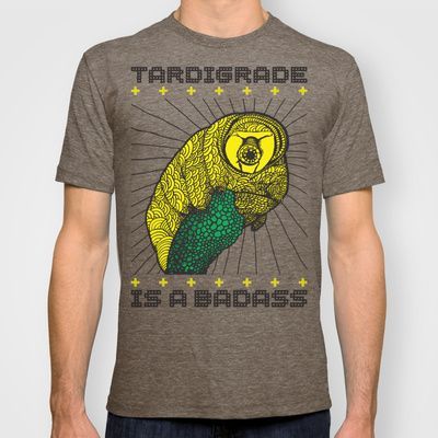 db9b32e7ce50 Tardigrade T-shirt by Matt Crave | Tardigrade slash Water Bear ...
