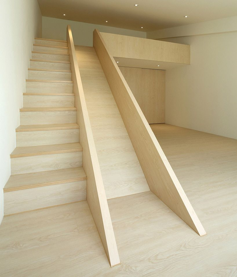 Stair Slide For Kids Under Stair Storage For Parents