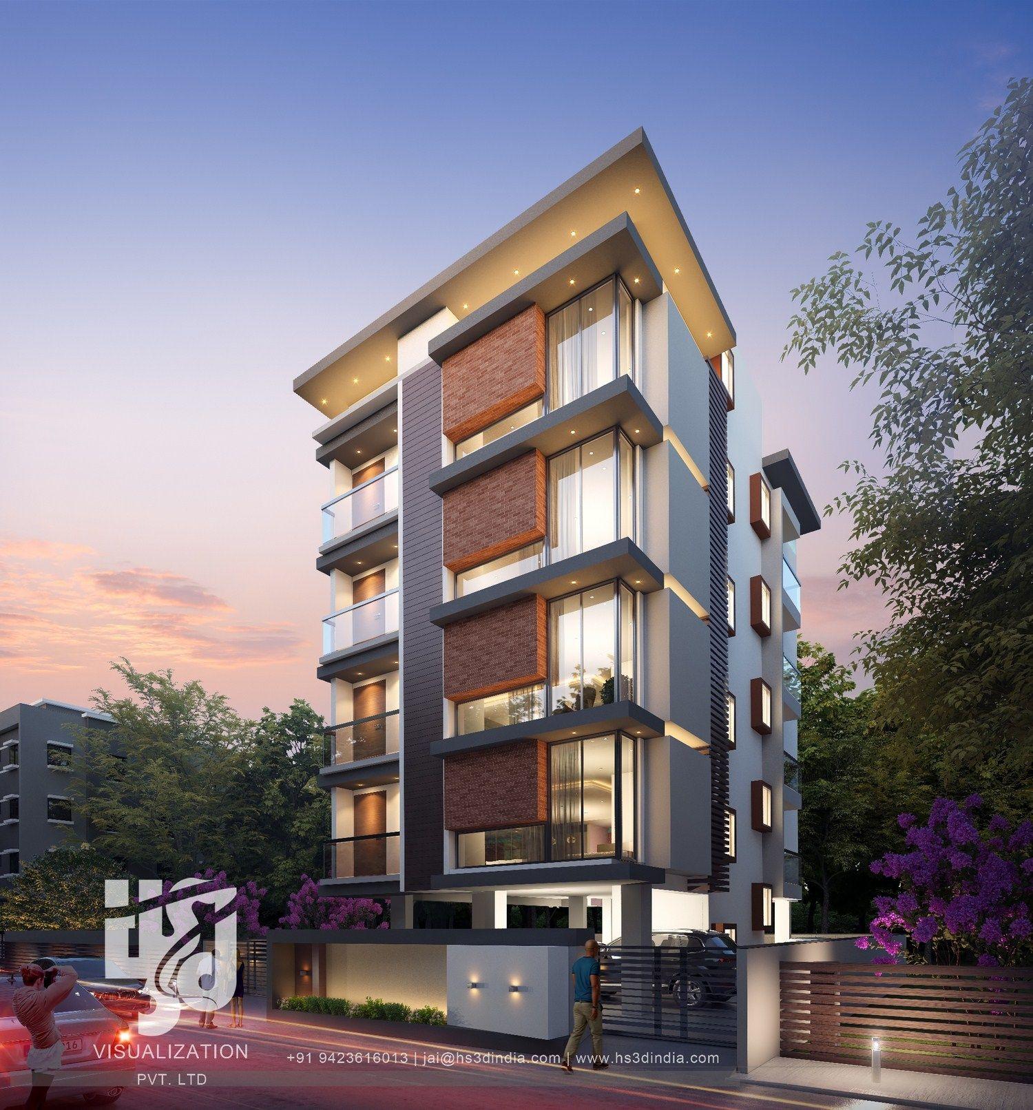 21 Modelos de fachadas de edificios