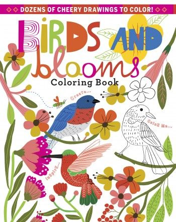 Birds And Blooms Coloring Book 7 Deal Nov 2015